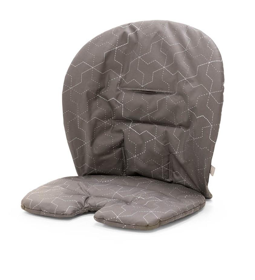 Подушка для стульчика Stokke Steps Geometric Grey