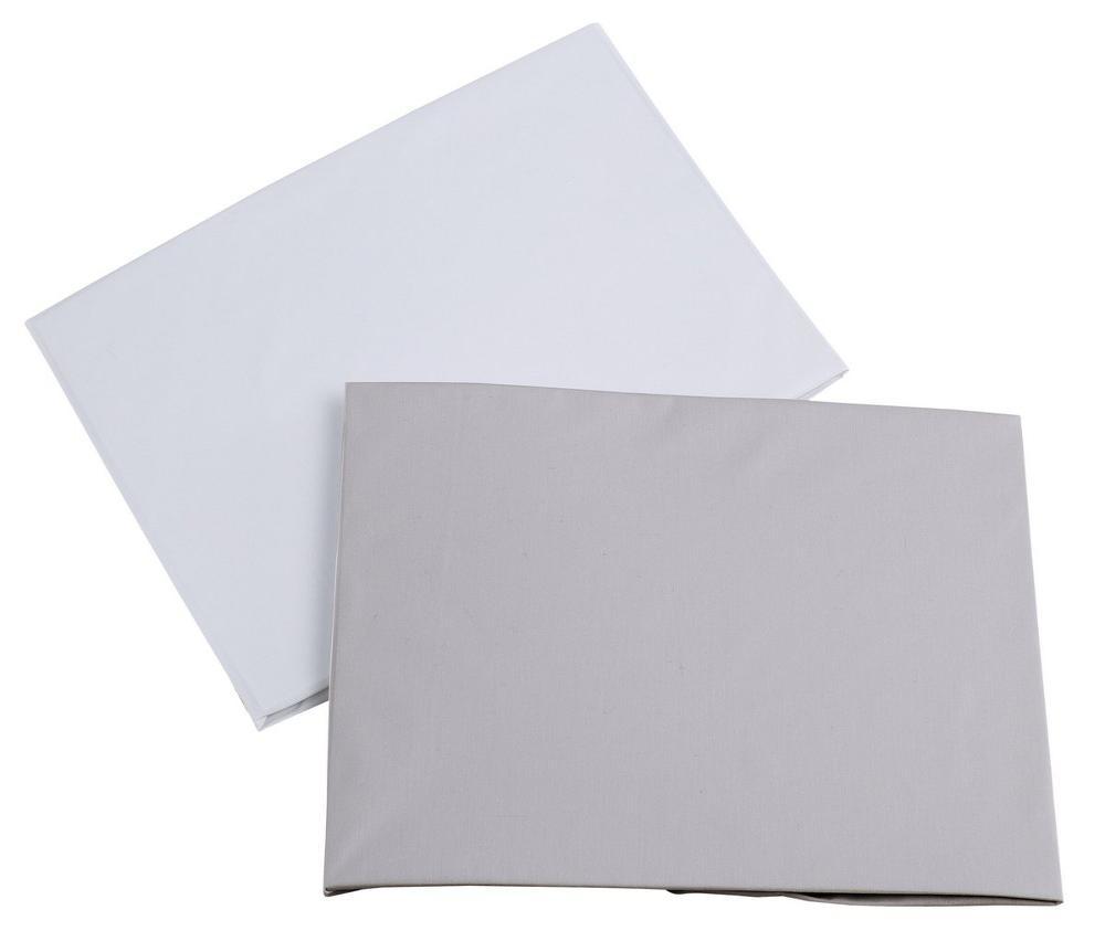 Набор простыней Micuna Étnico white/grey 140х70,