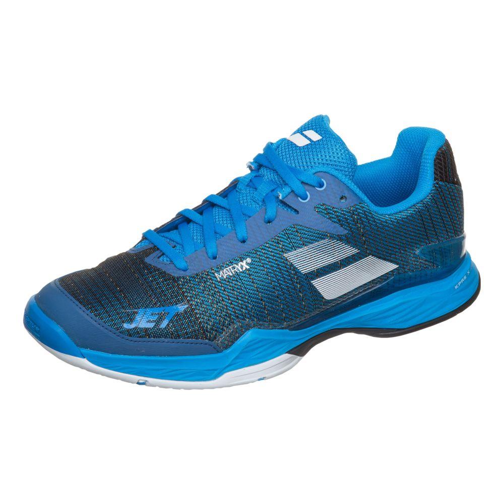 Теннисные кроссовки Babolat Jet Mach II All Court M Black/Blue (48) Jet Mach II All Court W по цене 11 990