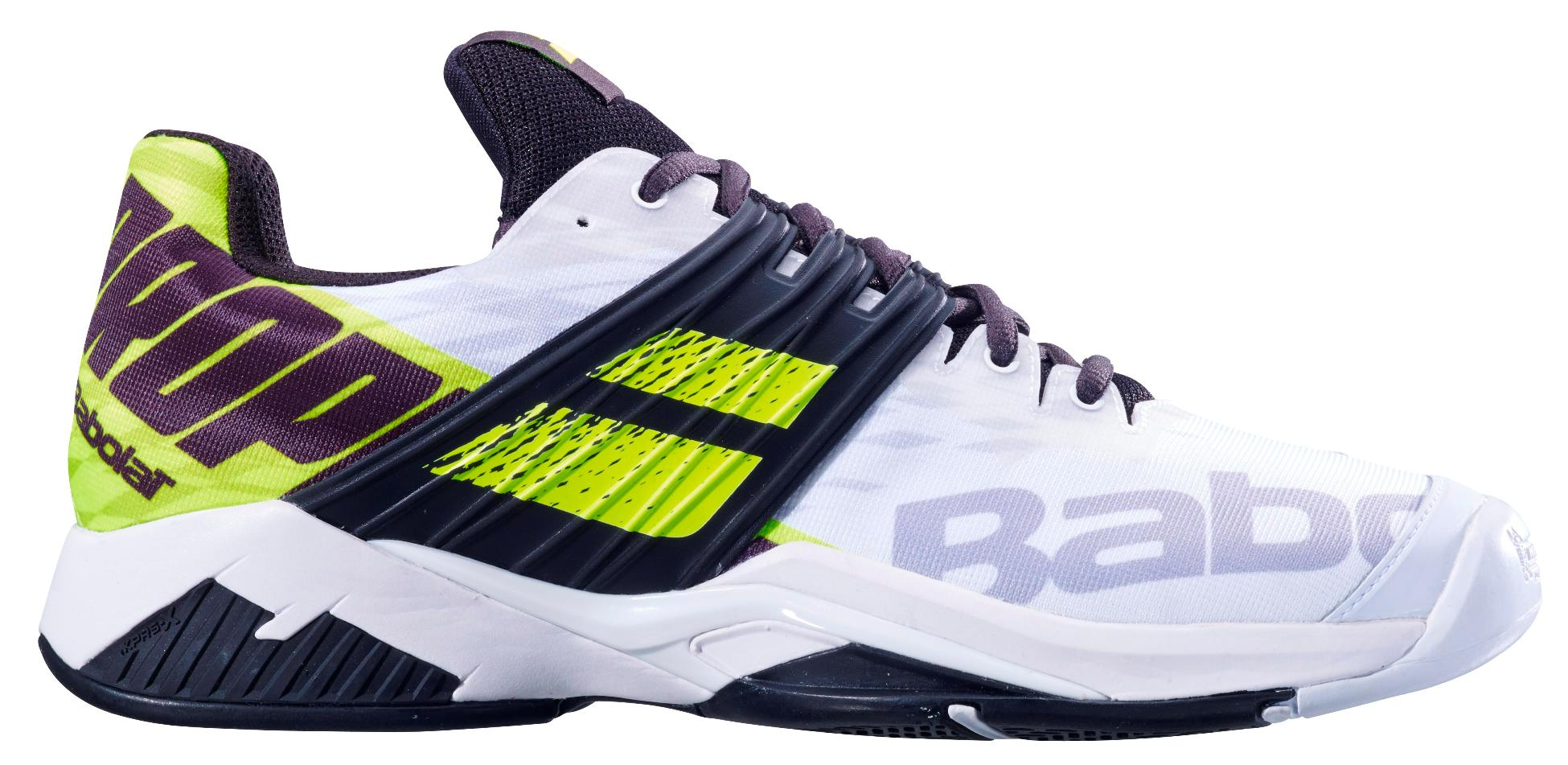 Теннисные кроссовки Babolat Propulse Fury All Court Black/White/Yellow (42) Propulse Fury All Court по цене 10 499