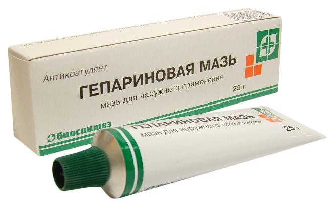 Гепариновая мазь Биосинтез для наруж.прим.25 г