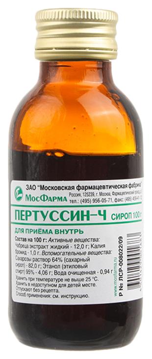 Пертуссин-Ч сироп фл 100 мл