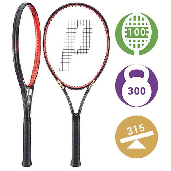 Теннисная ракетка Prince Textreme Beast 100 300 грамм (Уцененная) (4) по цене 9 500