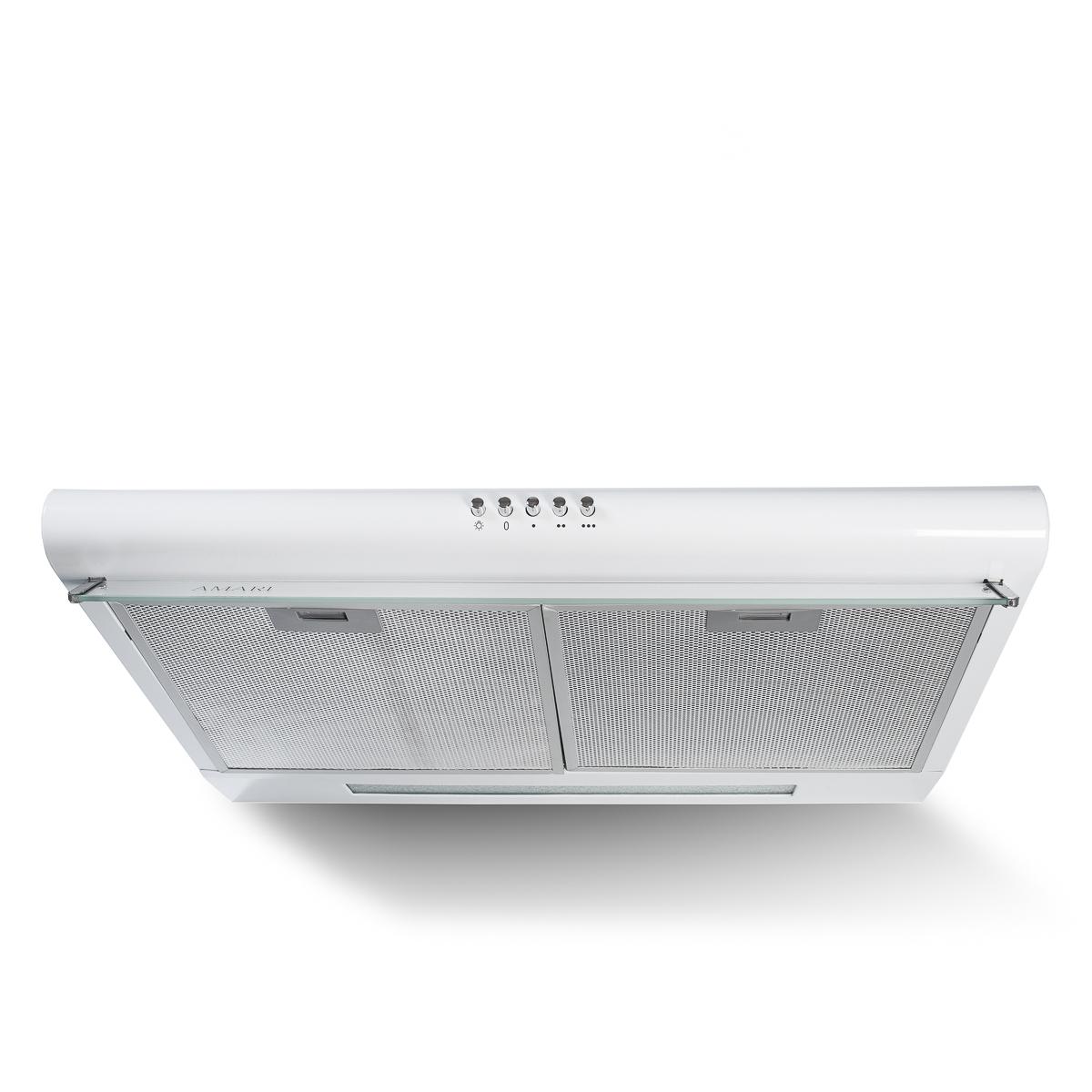 Вытяжка плоская AMARI Vita white 50