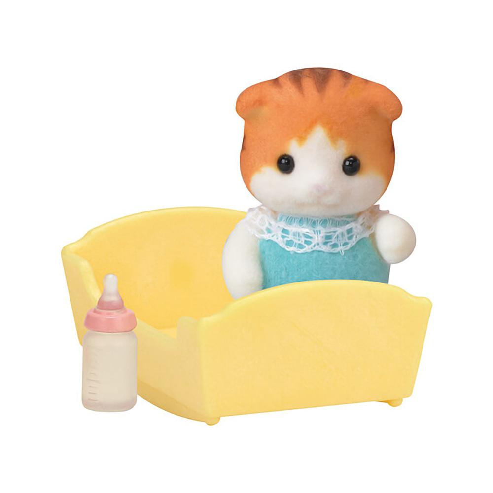 Купить Игровой набор Sylvanian Families Малыш Рыженький котенок, Игровые наборы