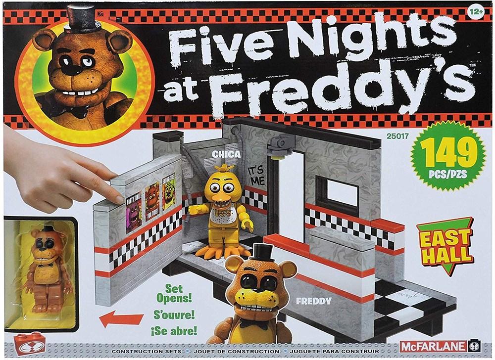 Купить Конструктор ФНАФ Восточный Зал (Five Nights at Freddy's East Hall Medium Construction Set) 149 деталей, Конструктор McFarlane Toys FNaF East Hall Medium Construction Set, 149 деталей, Конструкторы пластмассовые