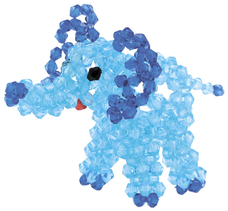 Брелоки Голубой слоненок LORI Бус 036