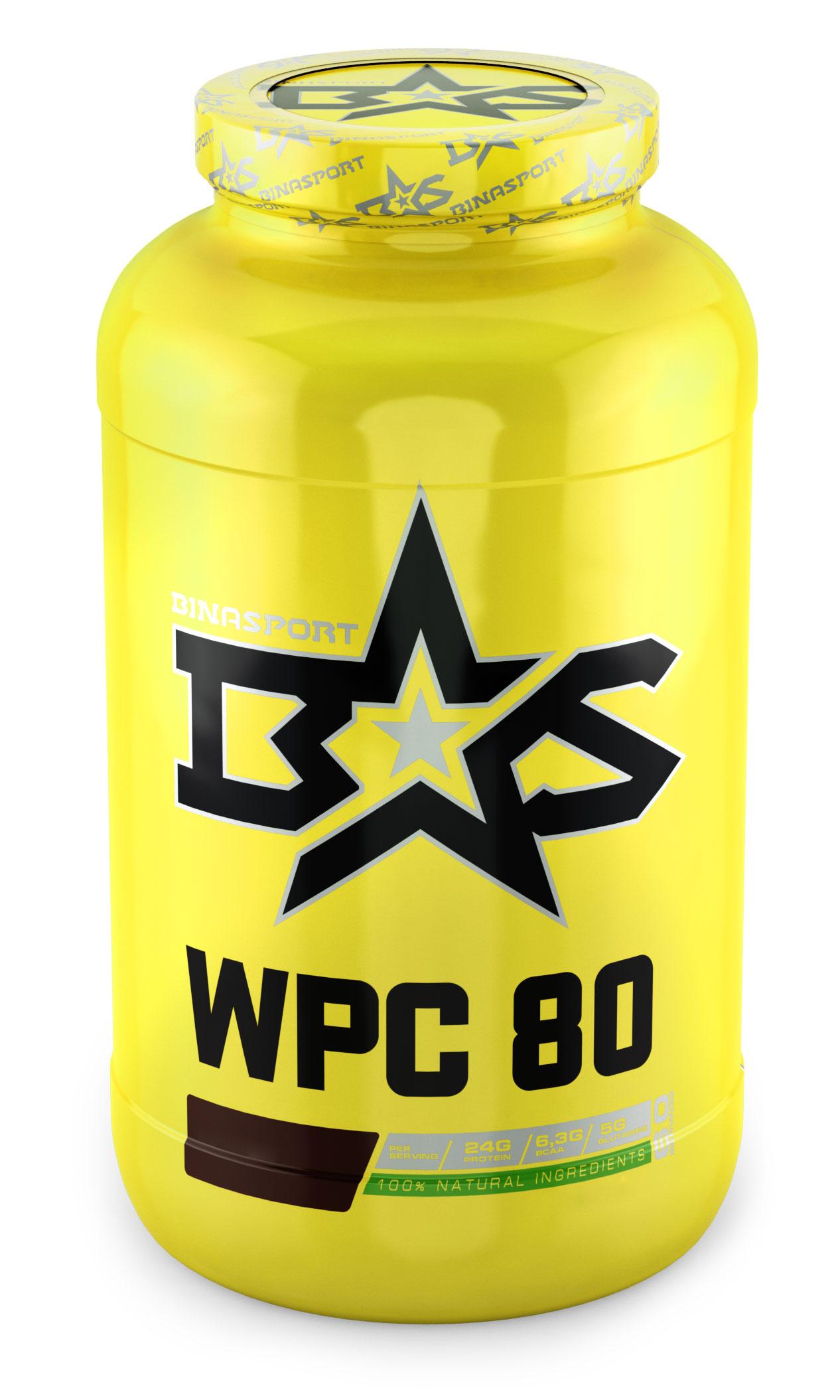 Протеин Binasport WPC 80 Whey Protein 2000 г Apple-Cinnamon фото