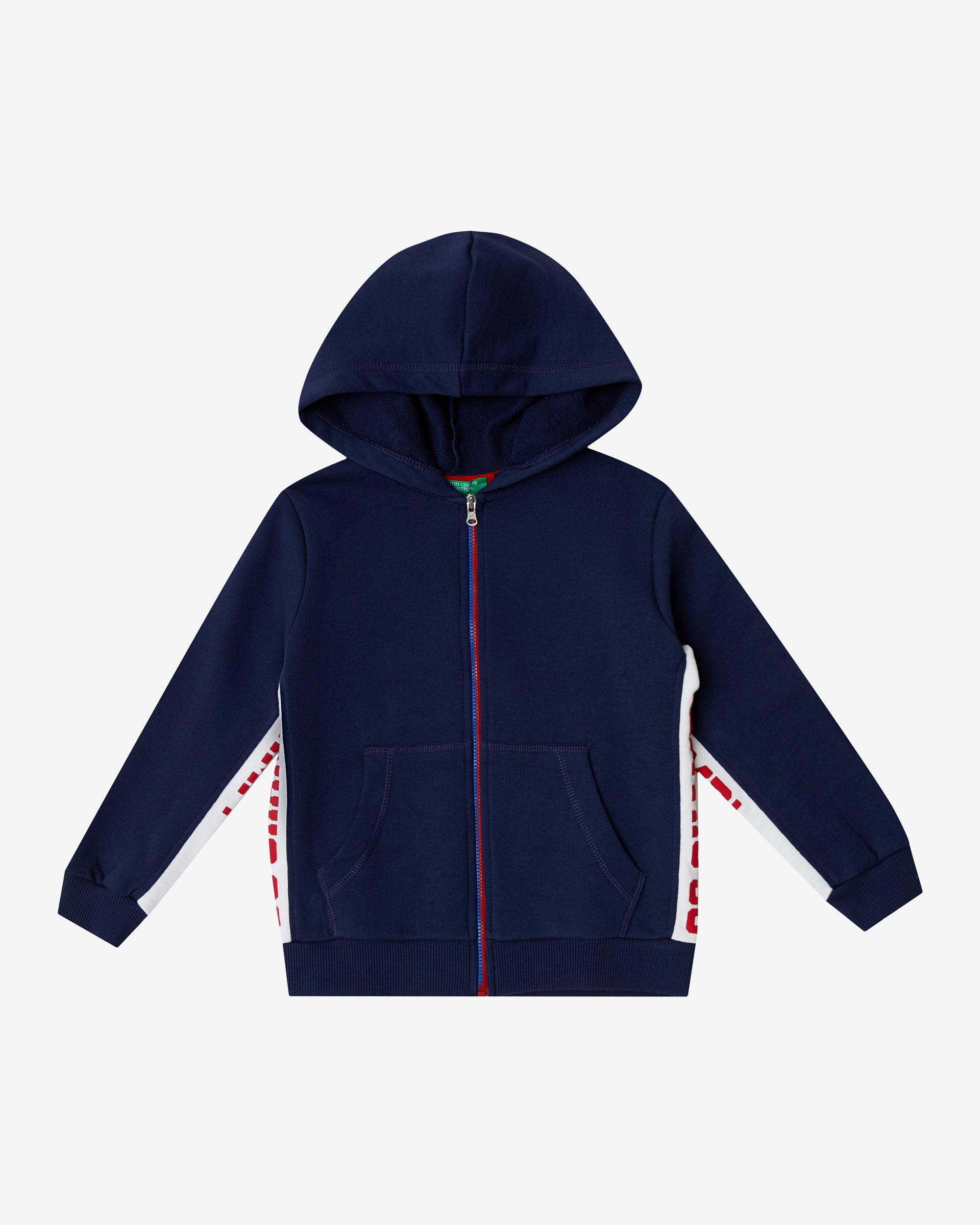 20P_3J68C52LP_252, Толстовка для мальчиков Benetton 3J68C52LP_252 р-р 80, United Colors of Benetton, Кофточки, футболки для новорожденных  - купить со скидкой