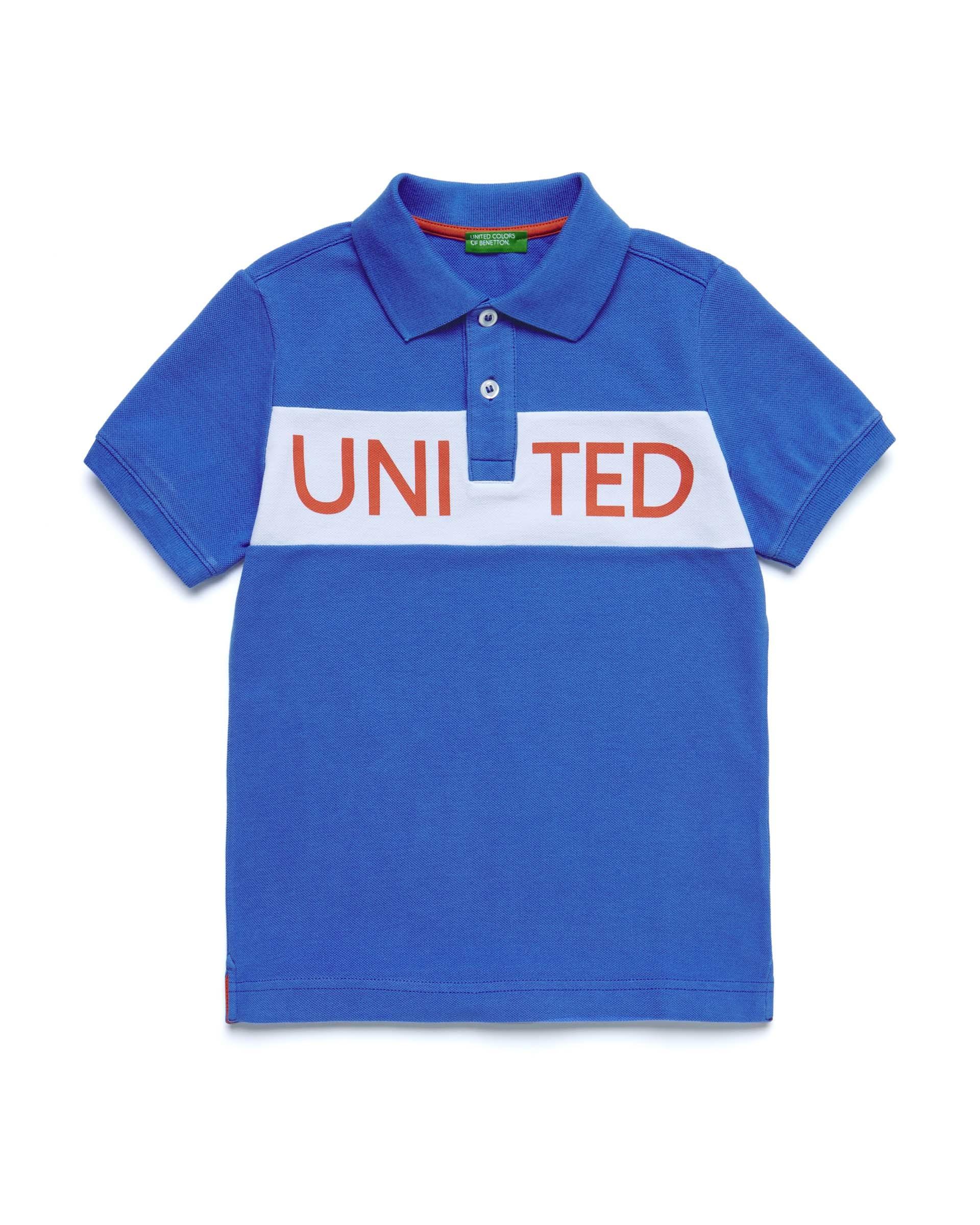 Купить 20P_3087C3132_08A, Поло для мальчиков Benetton 3087C3132_08A р-р 152, United Colors of Benetton, Футболки для мальчиков