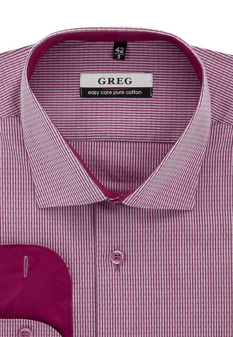 Рубашка мужская Greg 661/111/8221/1_GB красная 50 фото