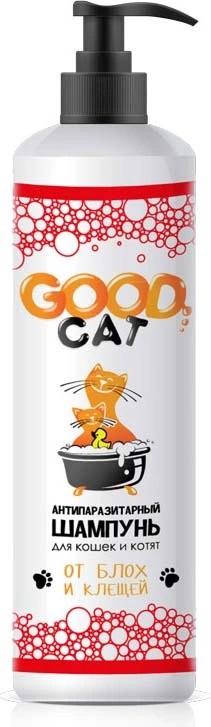 Антипаразитный шампунь для кошек и котят GOOD