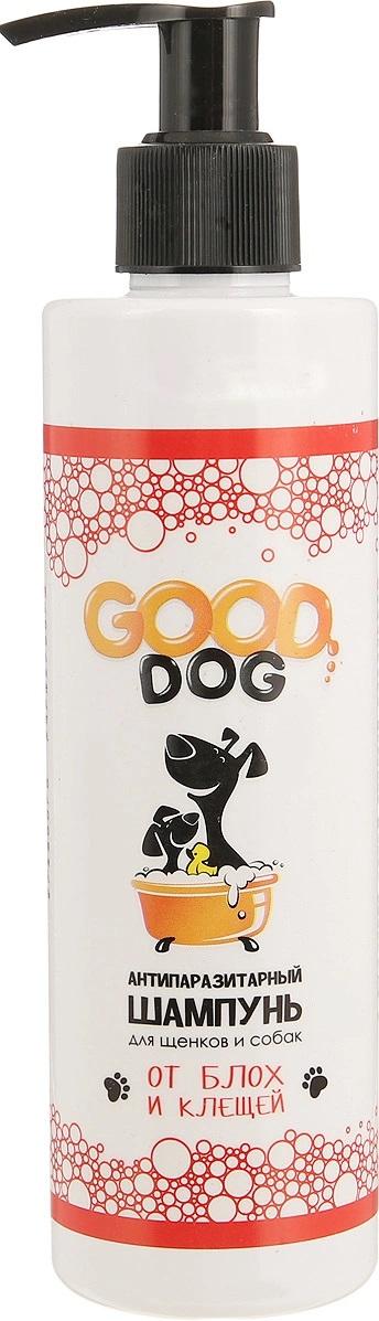 Антипаразитный шампунь для собак и щенков GOOD