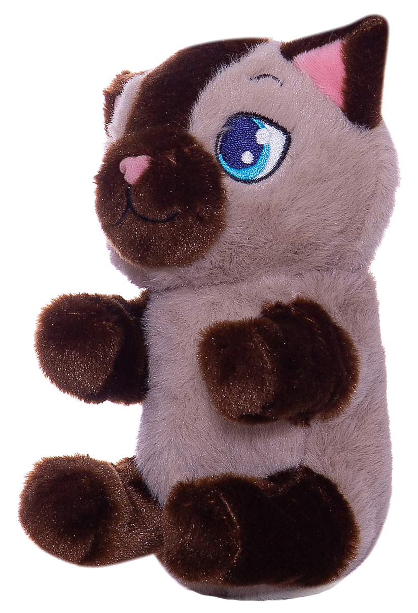Игрушка интерактивная «Котёнок», цвет бежево коричневый