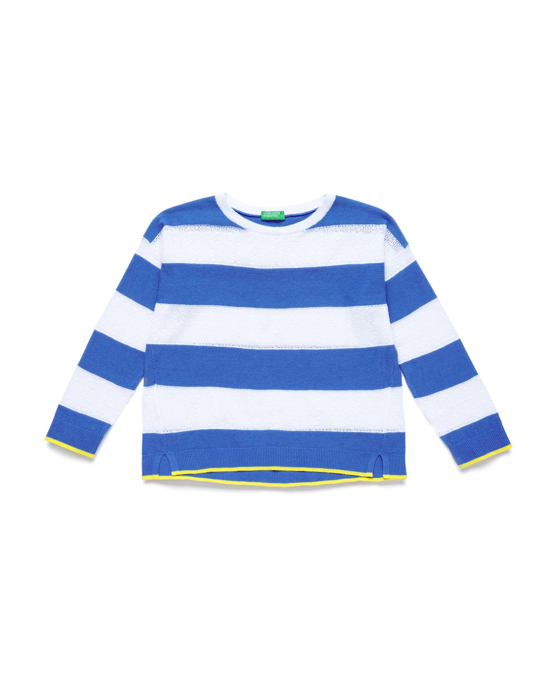 Купить 20P_10C1Q1899_08A, Джемпер для девочек Benetton 10C1Q1899_08A р-р 140, United Colors of Benetton, Джемперы для девочек