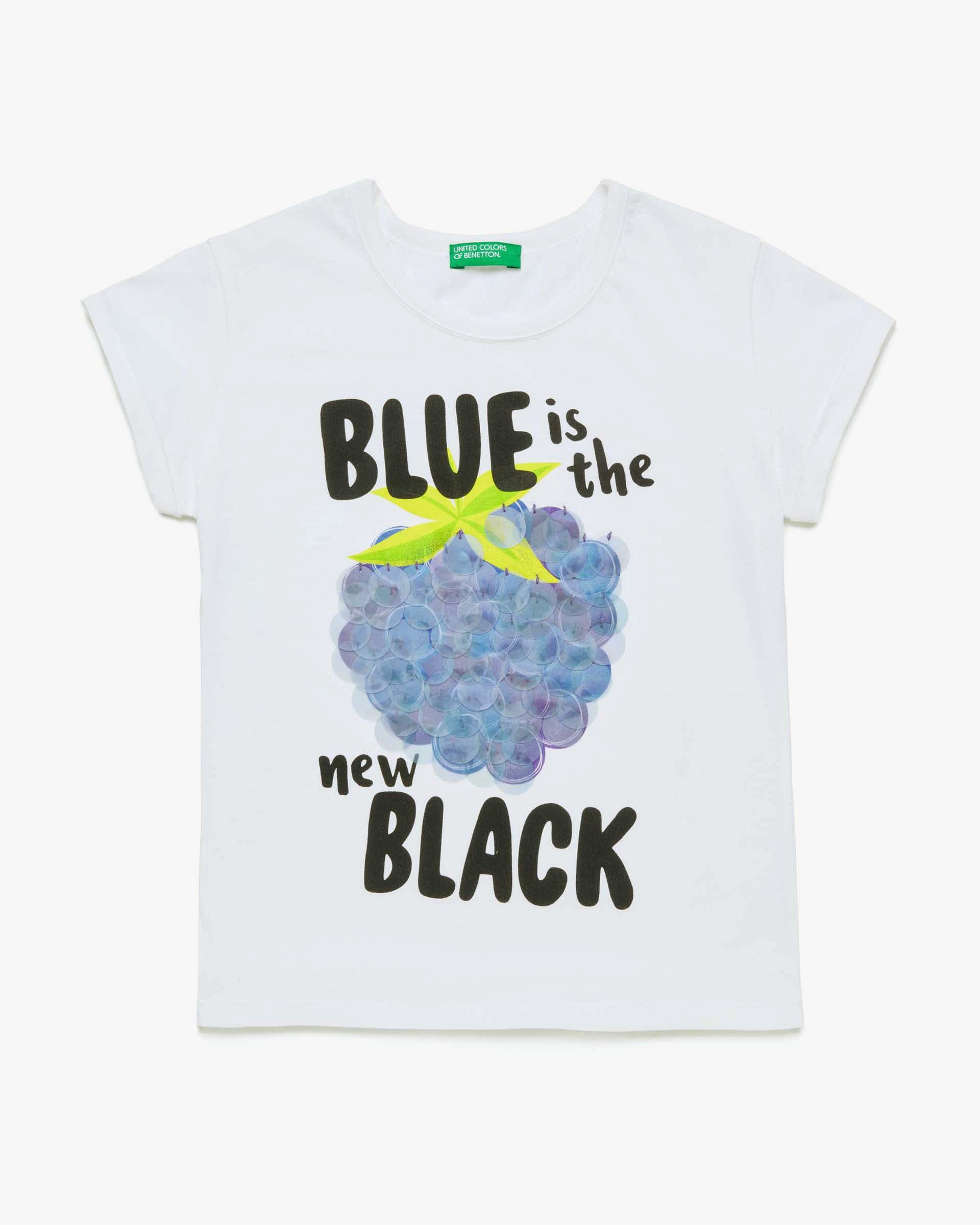 Купить 20P_3096C14M4_101, Футболка для девочек Benetton 3096C14M4_101 р-р 170, United Colors of Benetton, Футболки для девочек