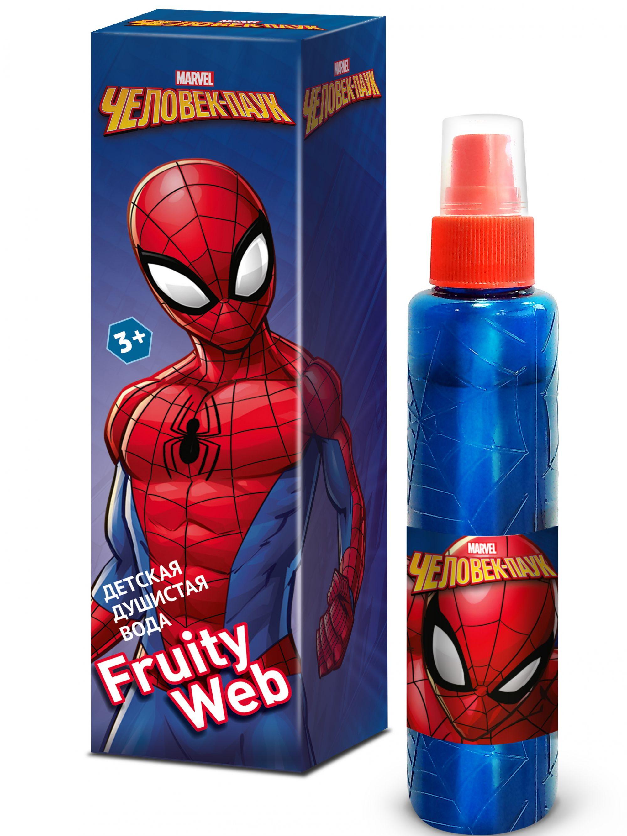 Душистая вода для мальчиков Spider Man fruity