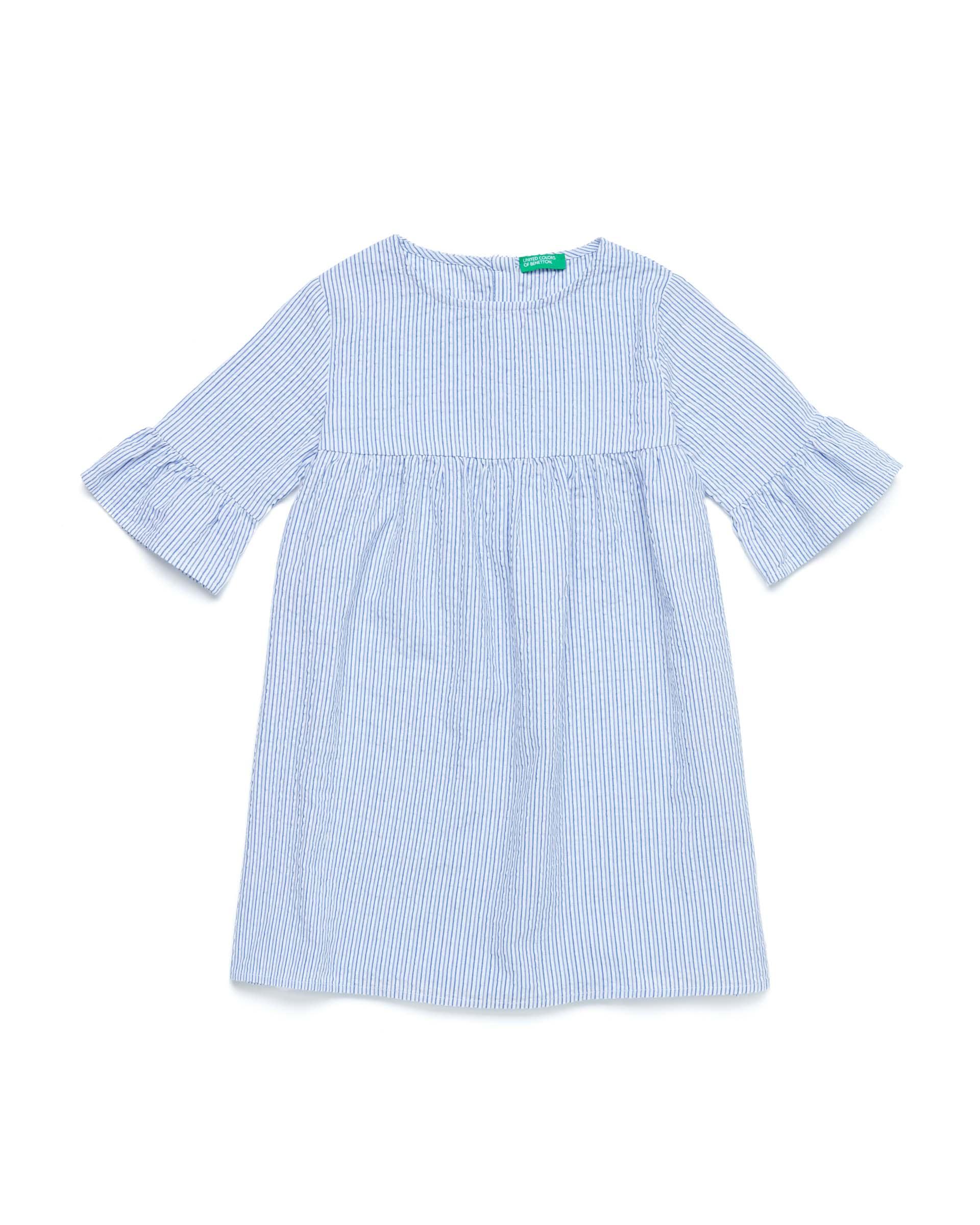 Купить 20P_4OV05VDI0_901, Платье для девочек Benetton 4OV05VDI0_901 р-р 140, United Colors of Benetton, Платья для девочек