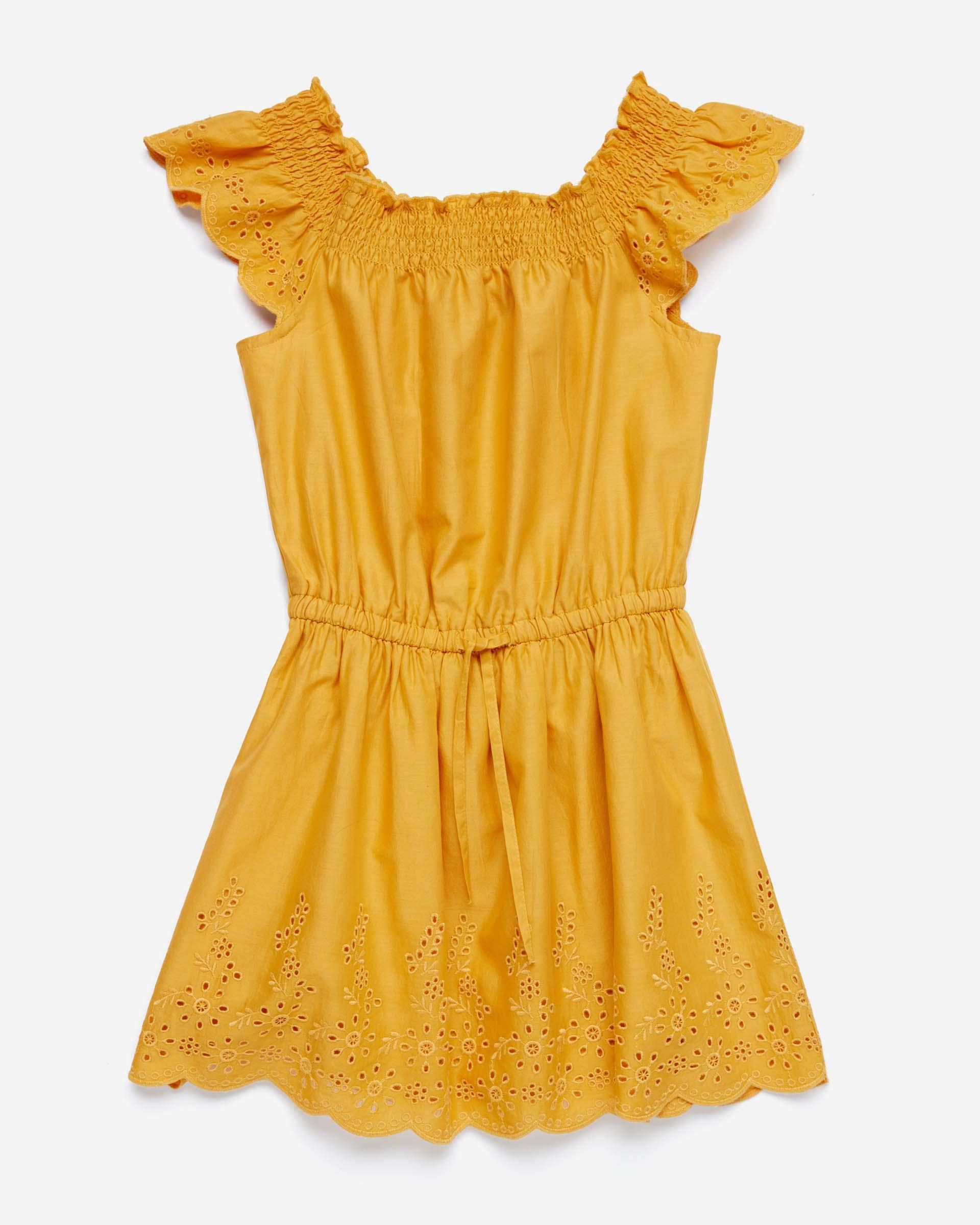 Купить 20P_4JO15VDK0_10K, Платье для девочек Benetton 4JO15VDK0_10K р-р 122, United Colors of Benetton, Платья для девочек