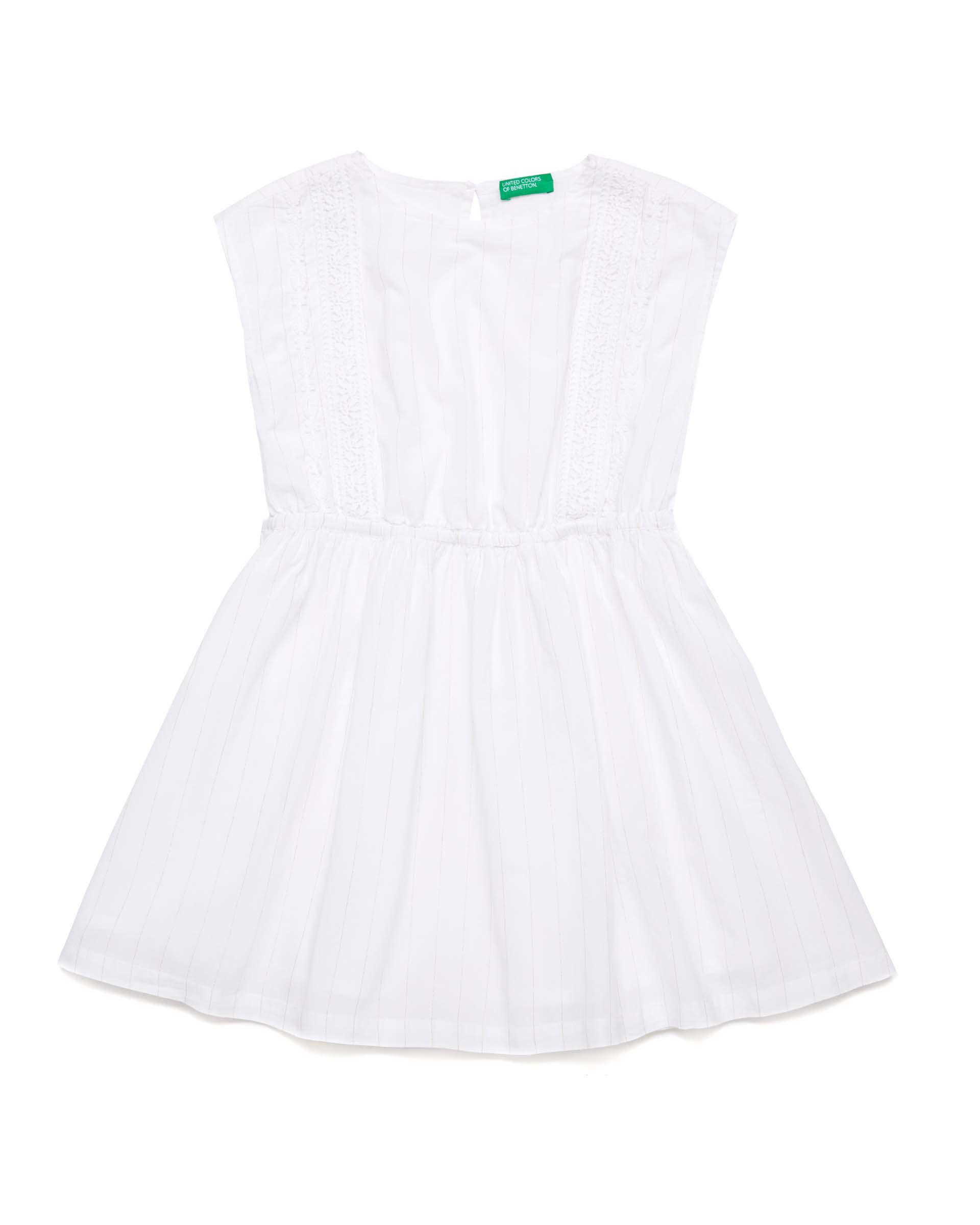 Купить 20P_4OV55VDH0_901, Платье для девочек Benetton 4OV55VDH0_901 р-р 128, United Colors of Benetton, Платья для девочек