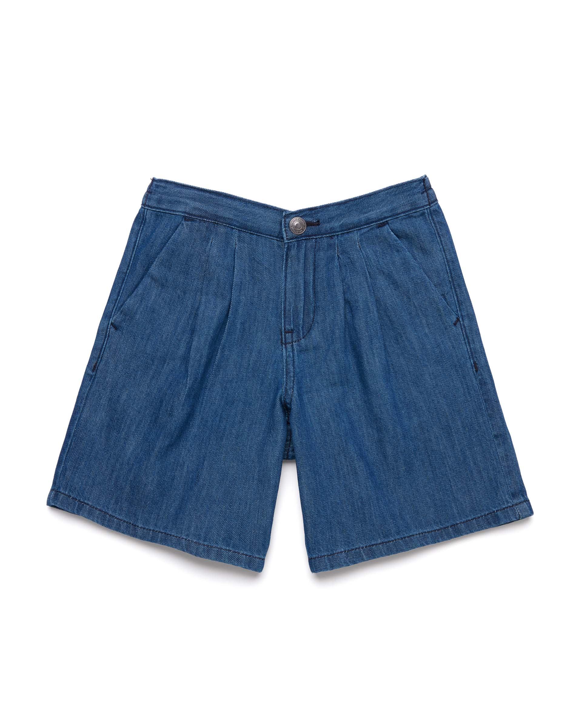 20P_4QD259EB0_901, Джинсовые шорты для девочек Benetton 4QD259EB0_901 р-р 128, United Colors of Benetton, Шорты для девочек  - купить со скидкой