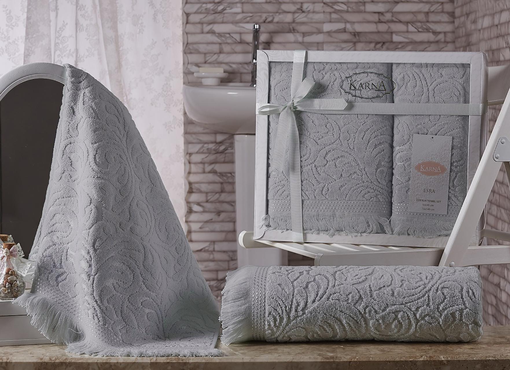 Коврик для ванной KARNA Esra Розовый