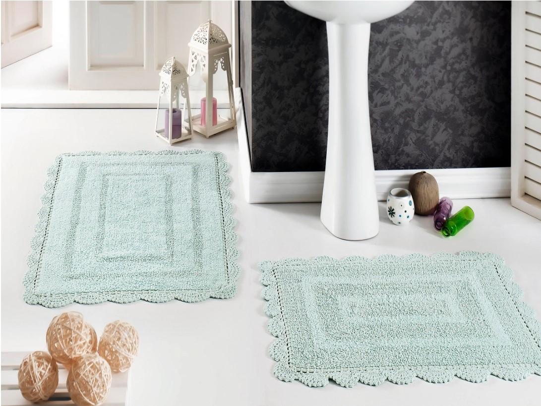 Набор ковриков для ванной Modalin Evora Светло