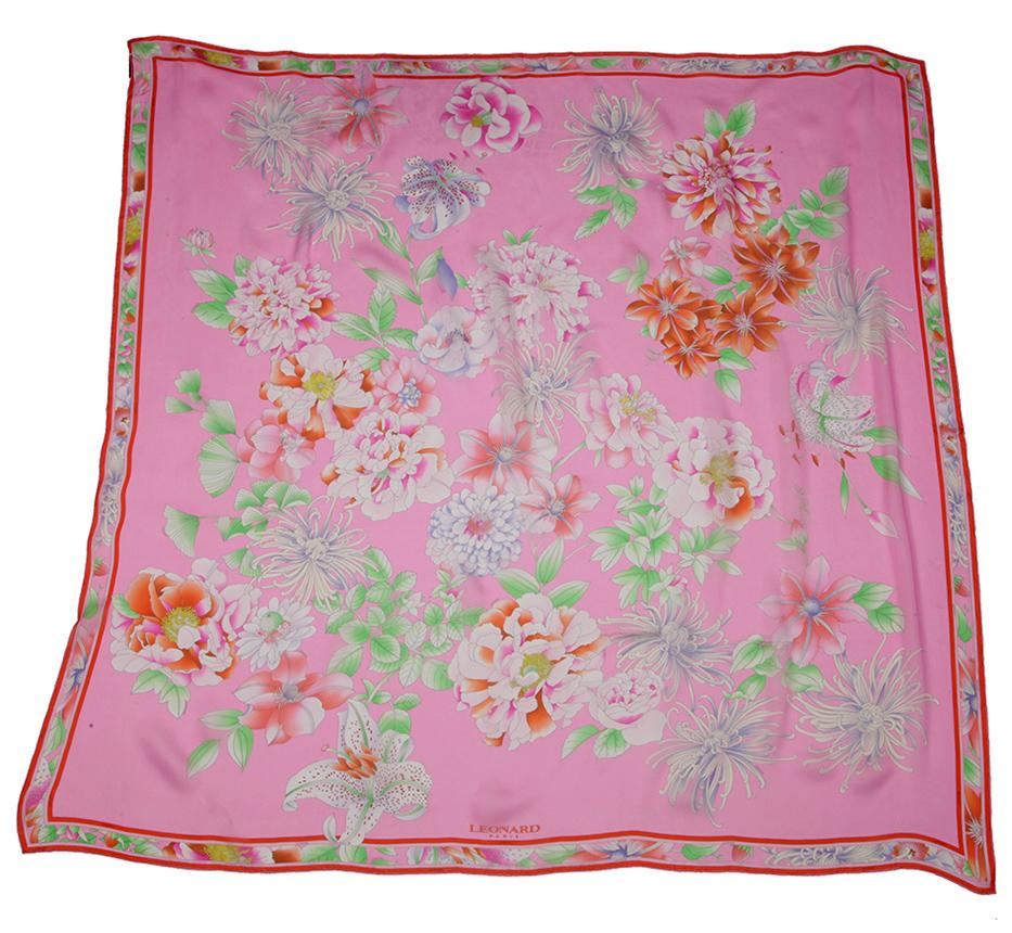 платок женский Leonard розовый