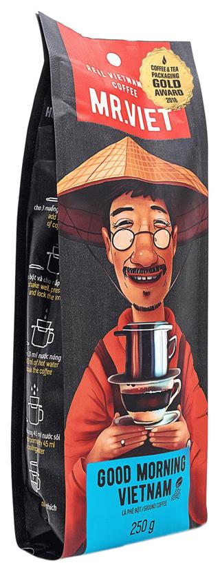 Кофе в зернах Sense Asia Мистер Вьет доброе утро 250 г