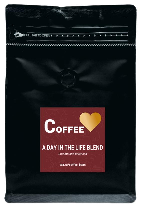 Кофе в зернах A Day In The Life Blend 200 г