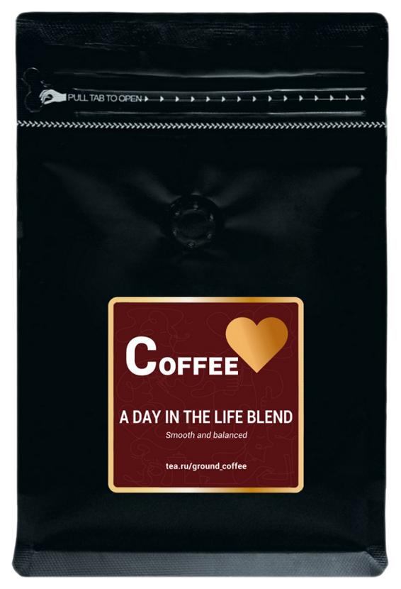 Кофе молотый A Day In The Life Blend 200 г