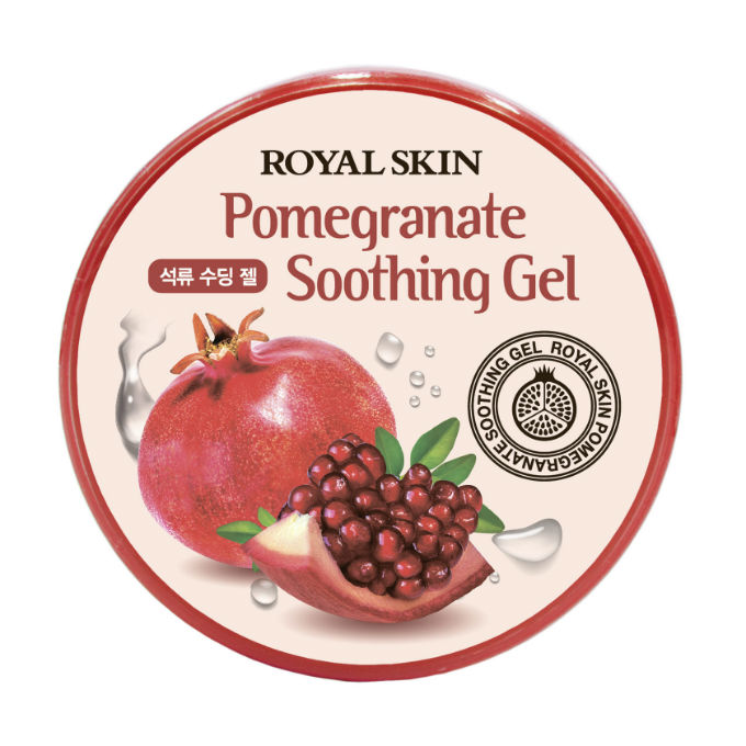 Многофункциональный гель Royal Skin для лица и тела с экстрактом граната