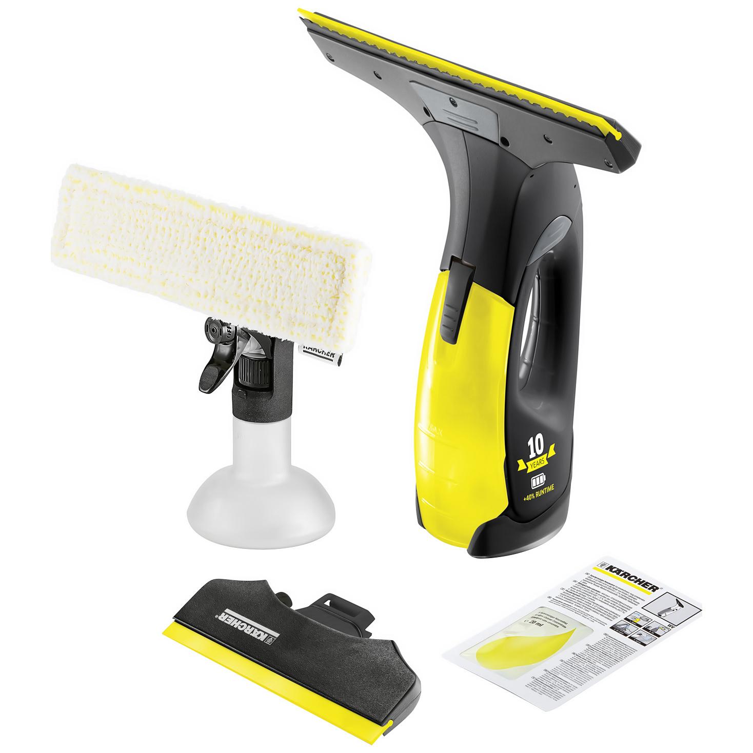 Стеклоочиститель Karcher WV 2 Premium Yellow