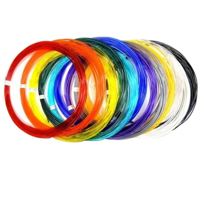 Купить Набор пластика для 3D-ручек PLA 15 цветов,