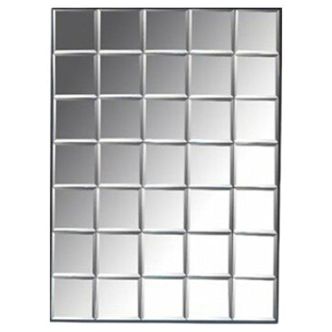 Зеркало настенное ROOMERS DTR2117 141х115 см, black