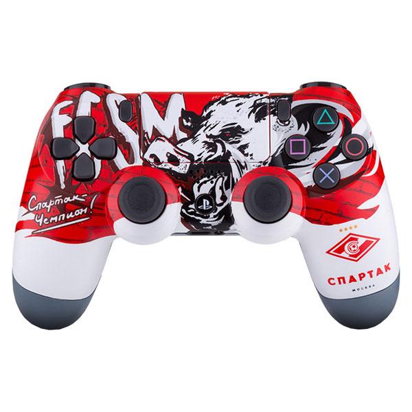 Геймпад Sony PlayStation Dualshock 4 v2 CUH-ZCT2E Спартак-Чемпион