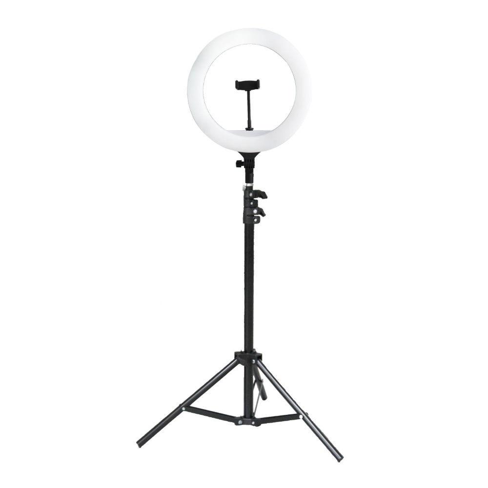 Кольцевая лампа SL 36T, 26 см, White/Black