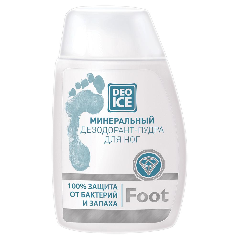 Минеральный дезодорант пудра для ног DEOICE Foot
