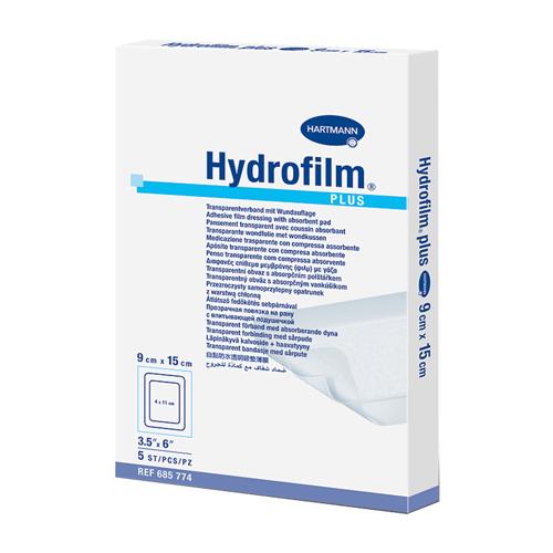 Прозрачная повязка HARTMANN Hydrofilm plus с впитывающей