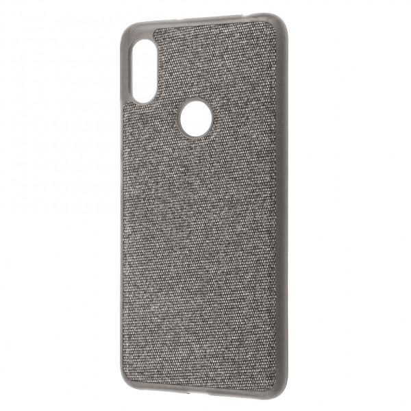 Чехол Fiber Logo для Xiaomi Redmi Note 6 Pro Grey