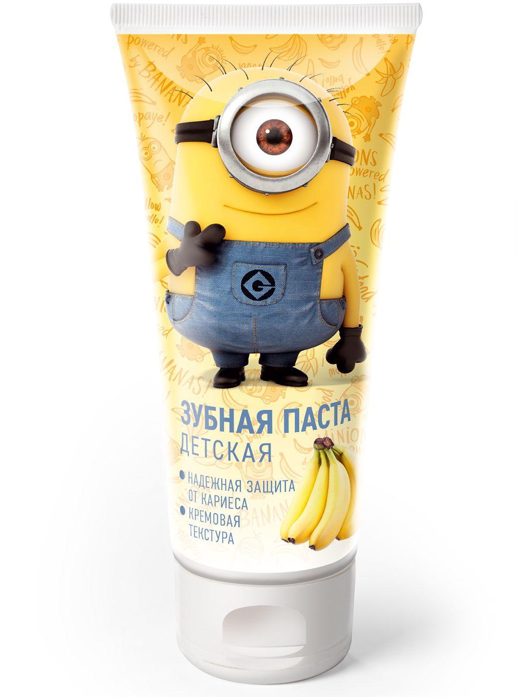 Зубная паста для детей Гадкий Я банан 60 г.