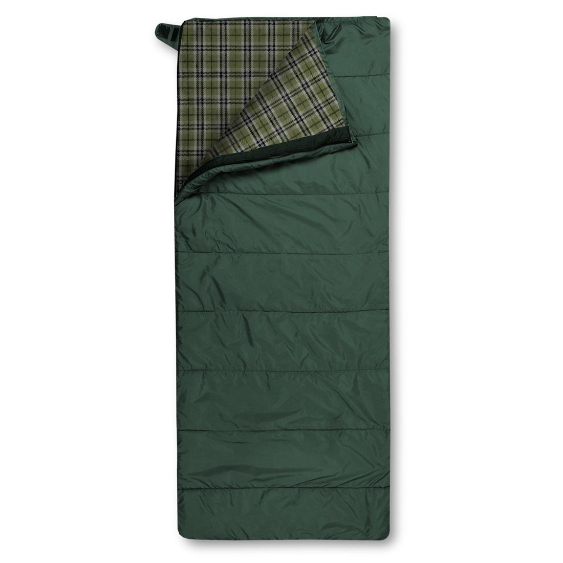 Спальный мешок Trimm Comfort TRAMP, зеленый, 195 R