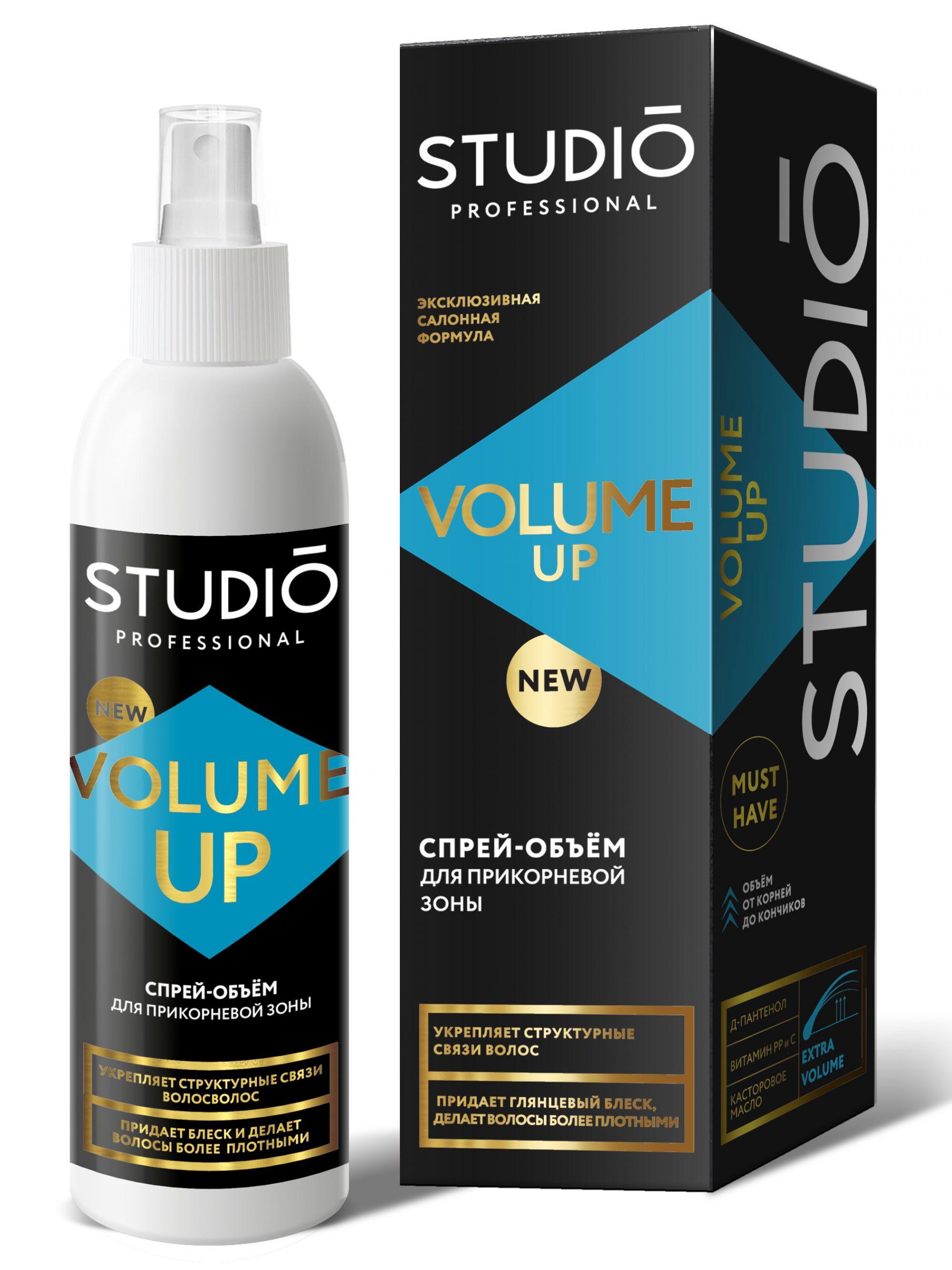 Спрей VOLUME UP для объема волос STUDIO PROFESSIONAL для прикорневой зоны 200 мл