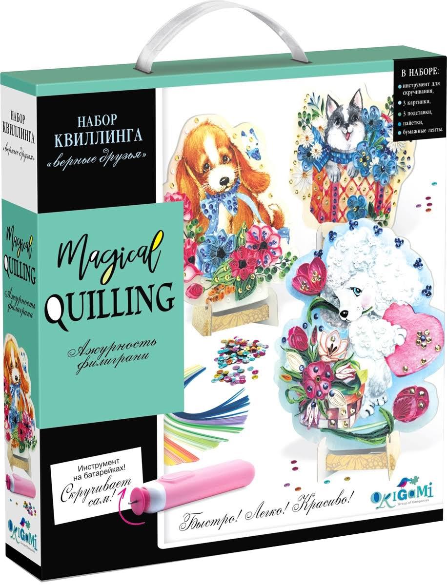 Купить Origami набор Квиллинга Magical Quilling Верные Друзья 03251 Origami 3251, Оригами