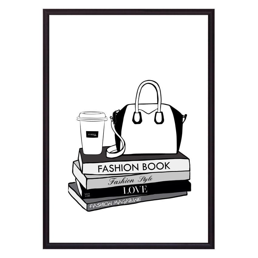 Постер в рамке Fashion book 21 х 30 см Дом Корлеоне