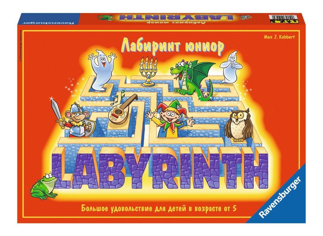 Купить Детский Лабиринт, Настольная игра детский лабиринт, Ravensburger, Семейные настольные игры