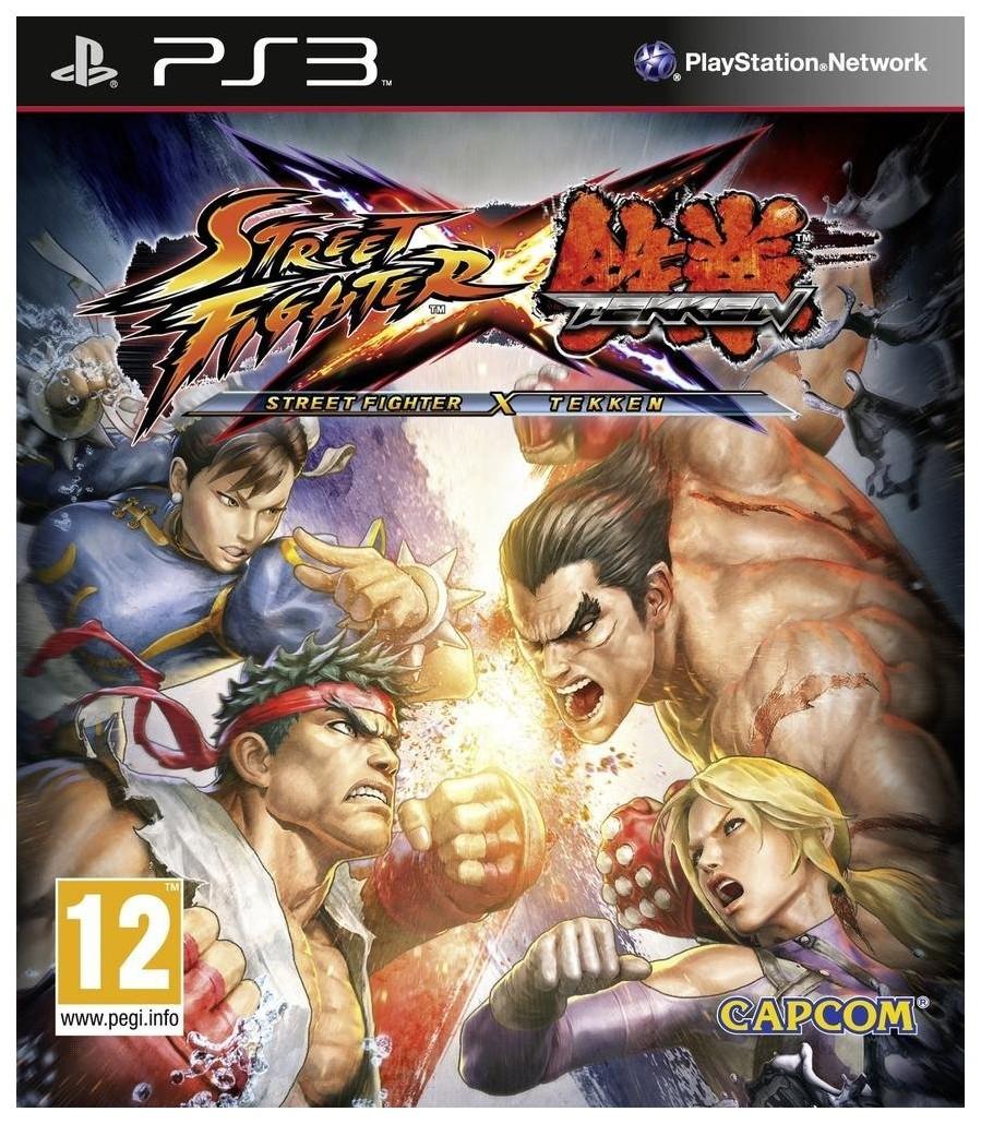 Игра Street Fighter X Tekken для PlayStation 3 Capcom