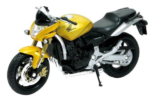 Купить Honda Hornet, Коллекционная модель Welly 12830p 1:18, Игрушечные мотоциклы