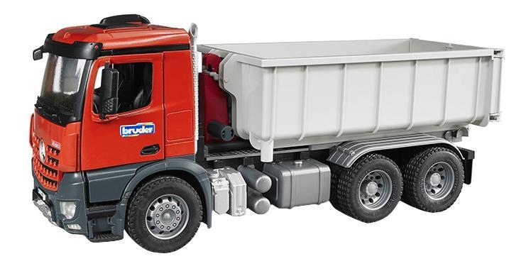 Купить Контейнеровоз Bruder Mercedes-benz со снимающимся контейнером, Игрушечный транспорт Bruder