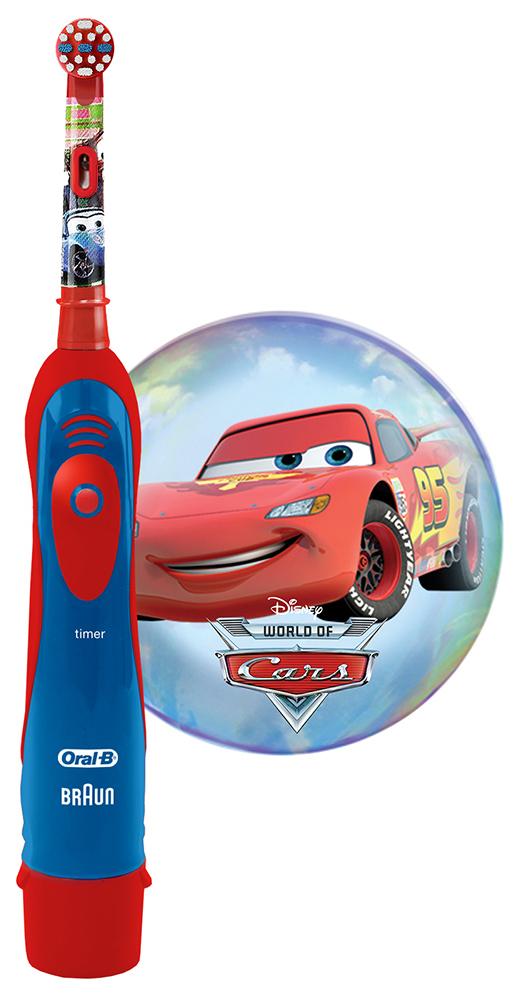 Электрическая зубная щетка Oral-B Oral-B Stages Power Cars Kids фото